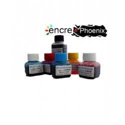 KIT DE RECHARGE 5 COULEURS 250 ml compatible CANON