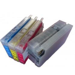 Lot de 4 Cartouches Rechargeables compatible HP 950/951