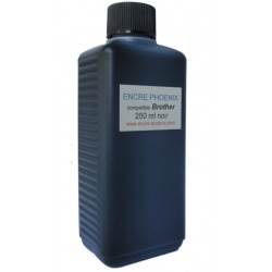 Encre en bouteille 250 ml compatible BROTHER