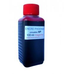 Encre en bouteille 100 ML compatible HP