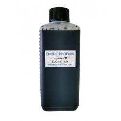 Encre en bouteille 250 ML compatible HP
