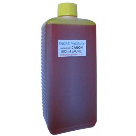 Encre en bouteille 500 ml compatible CANON