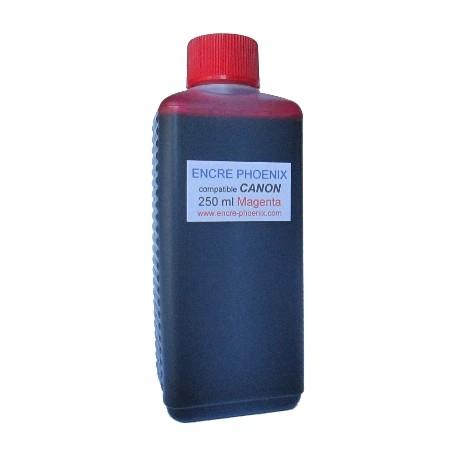 Encre en bouteille 250 ml compatible CANON