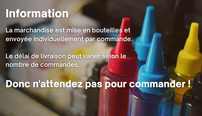 Informations encre