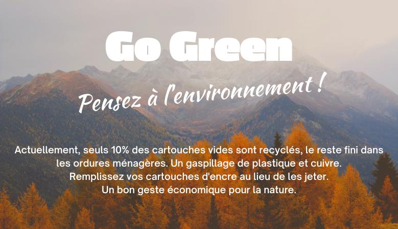 Pensez à l'environnement !